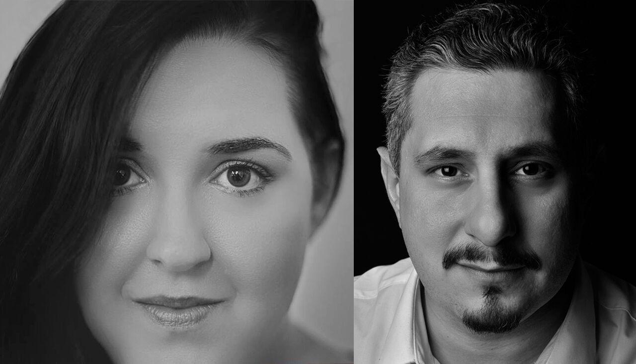 Artists Camile Grace & Dominick Ricciardi