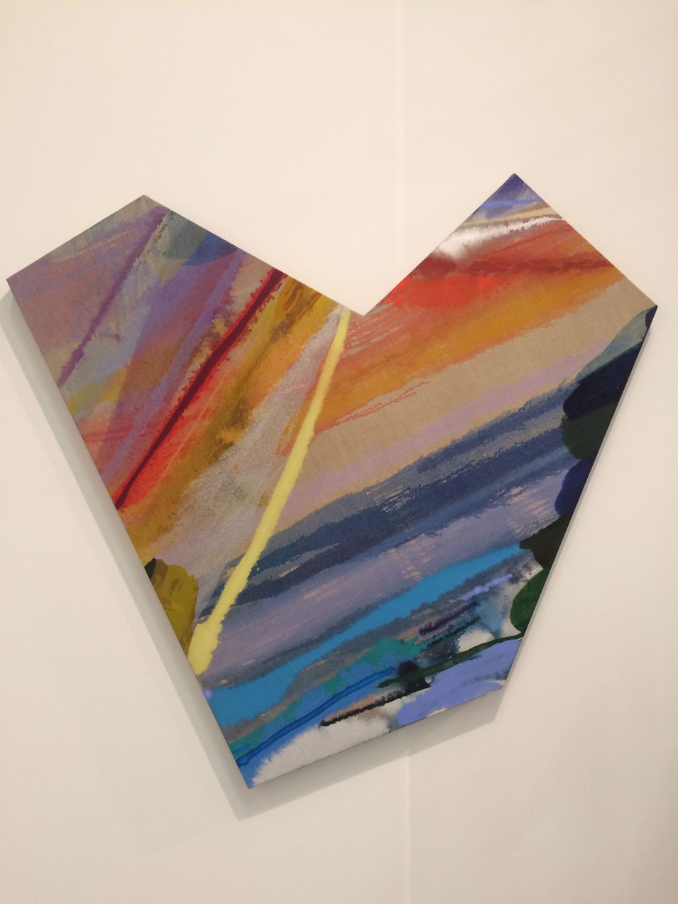 Pamela Jordan,  untitled , 2016, oil on linen, Klaus Von Nichtssagend Gallery, New York, NY