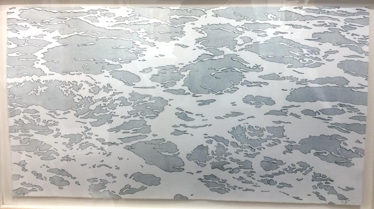 Benjamin Guffee,  Through VI , 2015, Pele Prints, St. Louis, MO