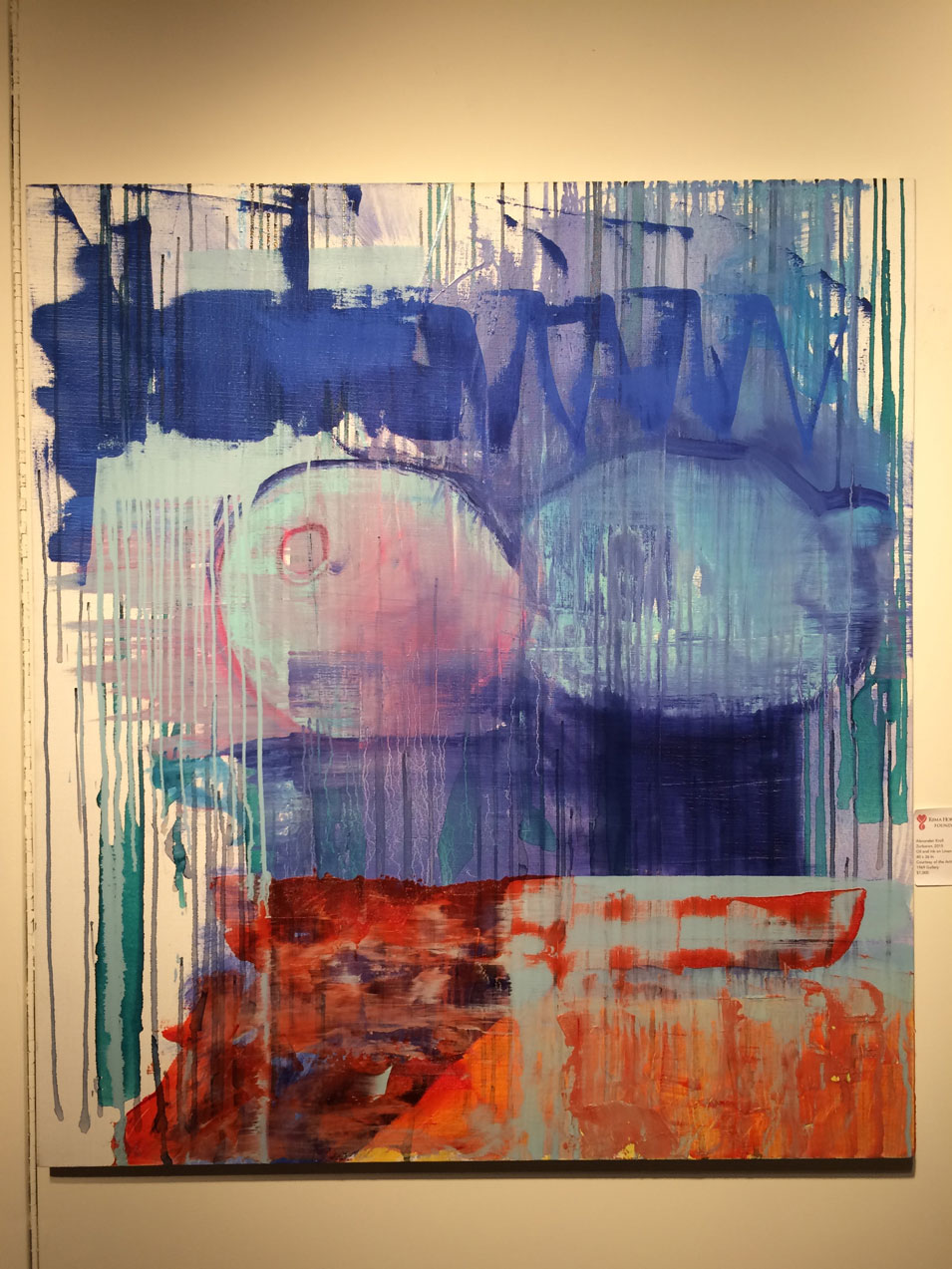Alexander Kroll,  Zurbaran , 2015, oil and ink on linen, Rema Hort Mann Foundation