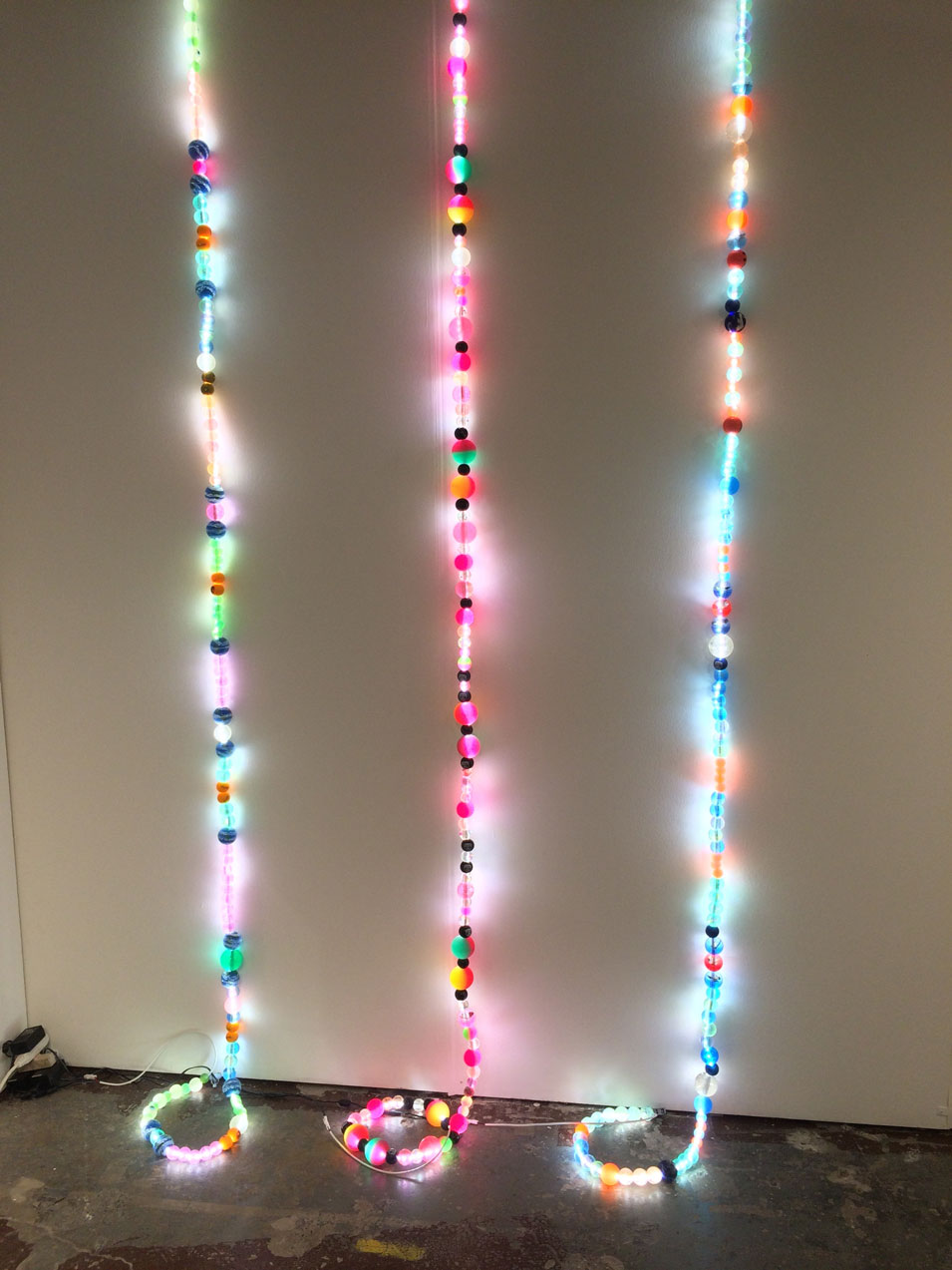 Jessie Stead,  Beaded Interludes (Intestinal Dimensions),  247365, New York, NY
