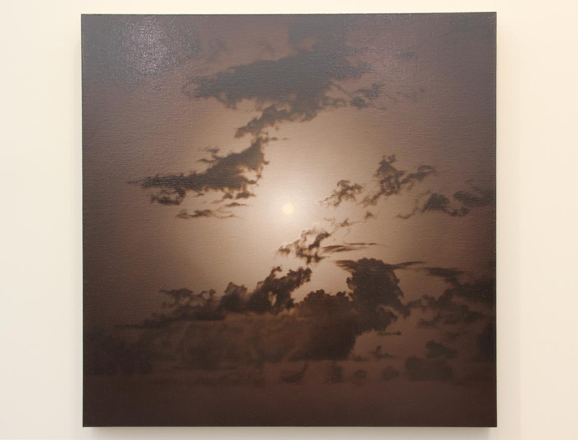 Damian Loeb, Opium, 2017, Oil on linen, Acquavella Galleries, New York, NY