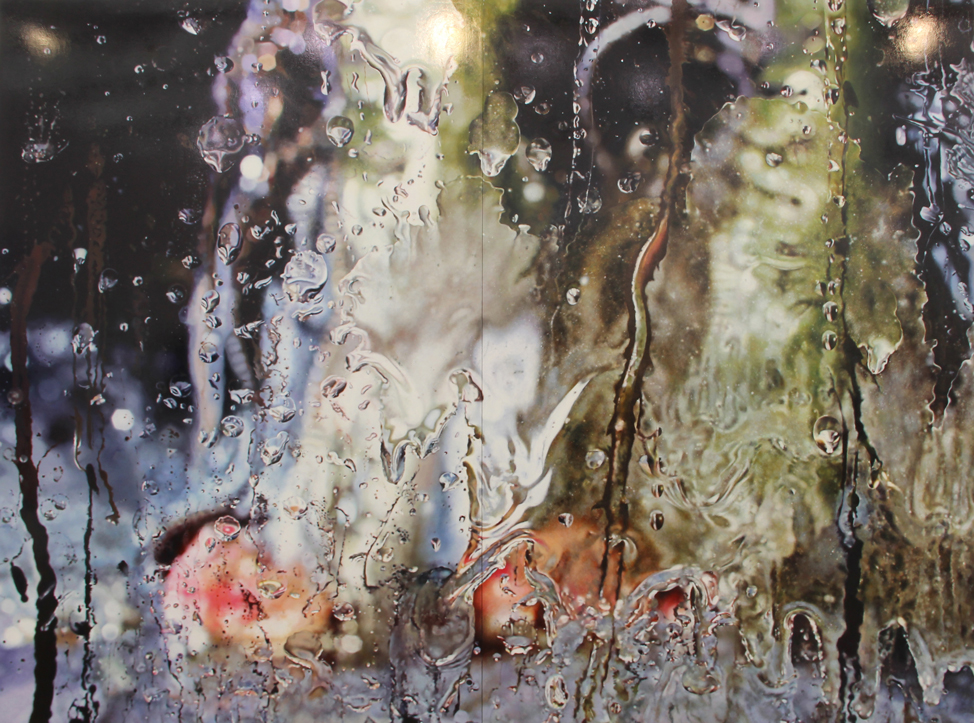 Marilyn Minter, Glisterine, 2011, Enamel on metal, Salon 94, New York, NY