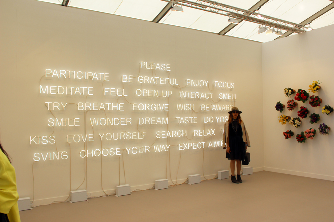 Work by Jeppe Hein and Hans-Peter Feldmann at 303 Gallery, New York, NY