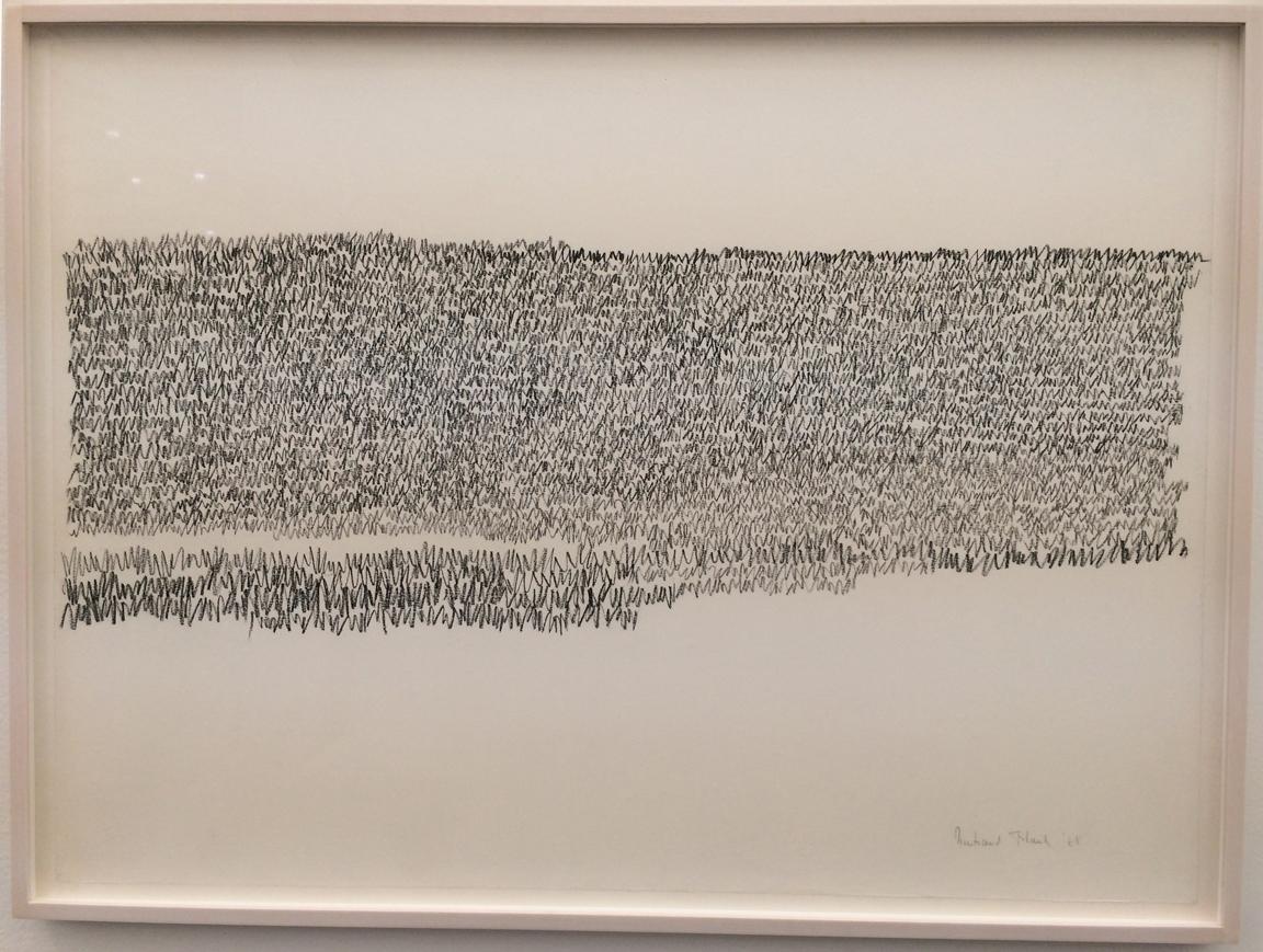 Irma Blank's  Eigenscriften  (Self-writings, 1968-1973) Series, P420, Bologna, IT