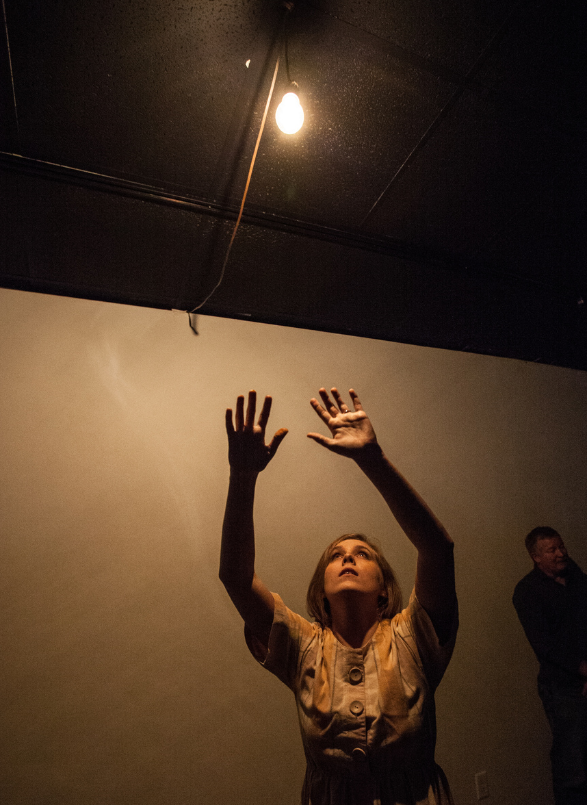 """From her performance art series, """"Grounded"""" by Ashton Leath (in collaboration with Frank Graham)"""