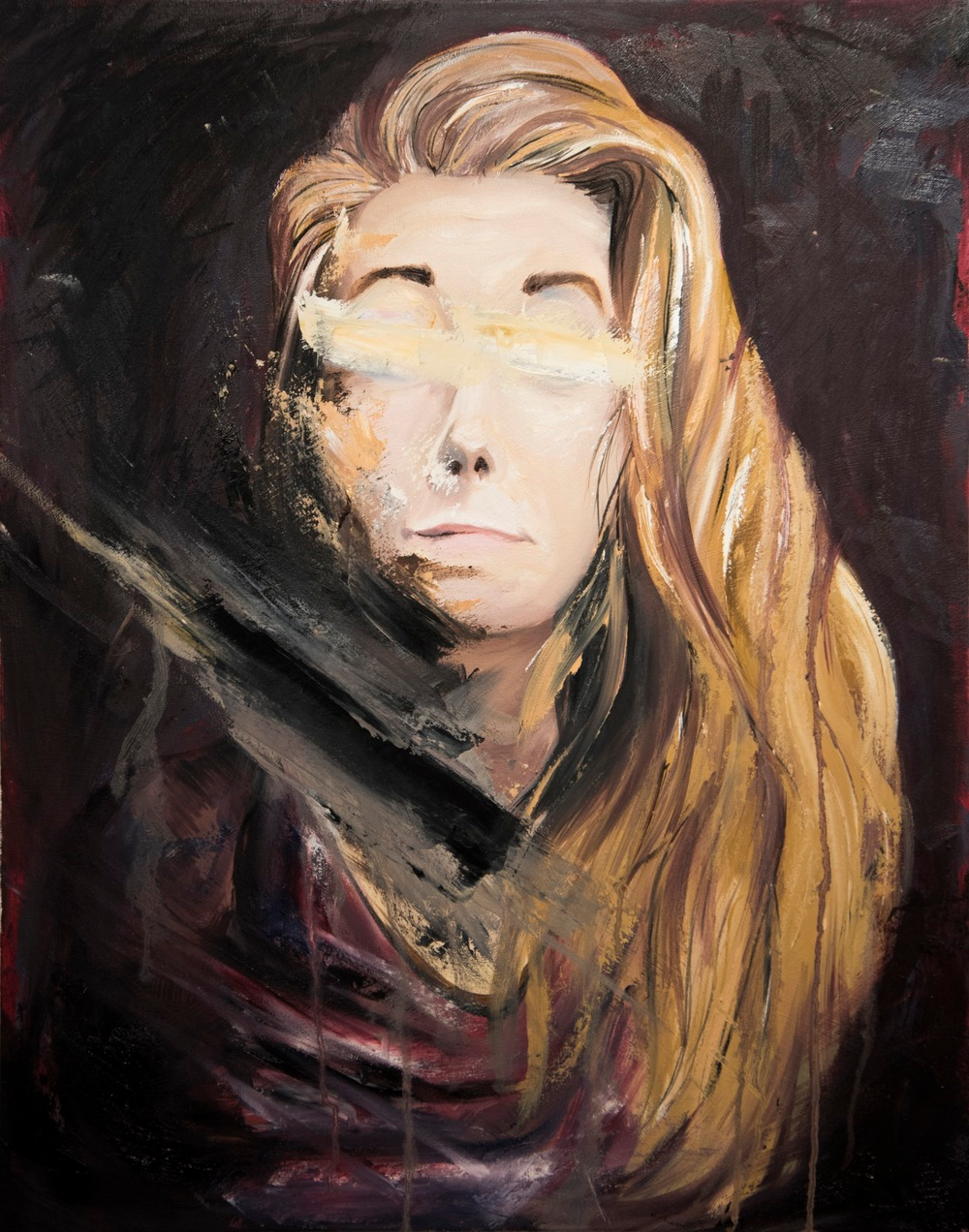 Self-portrait by Ashton Leath