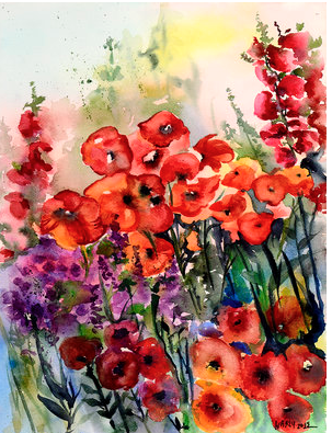 """Field of Poppies"""