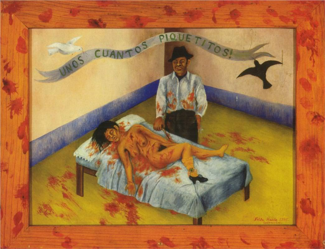 A Few Small Nips. Image from FridaKahlo.org