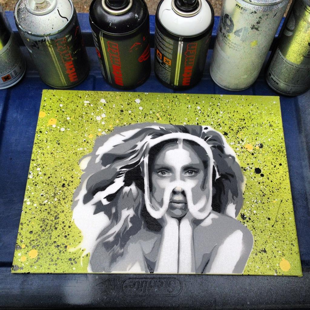 Lady Gaga by August Riche