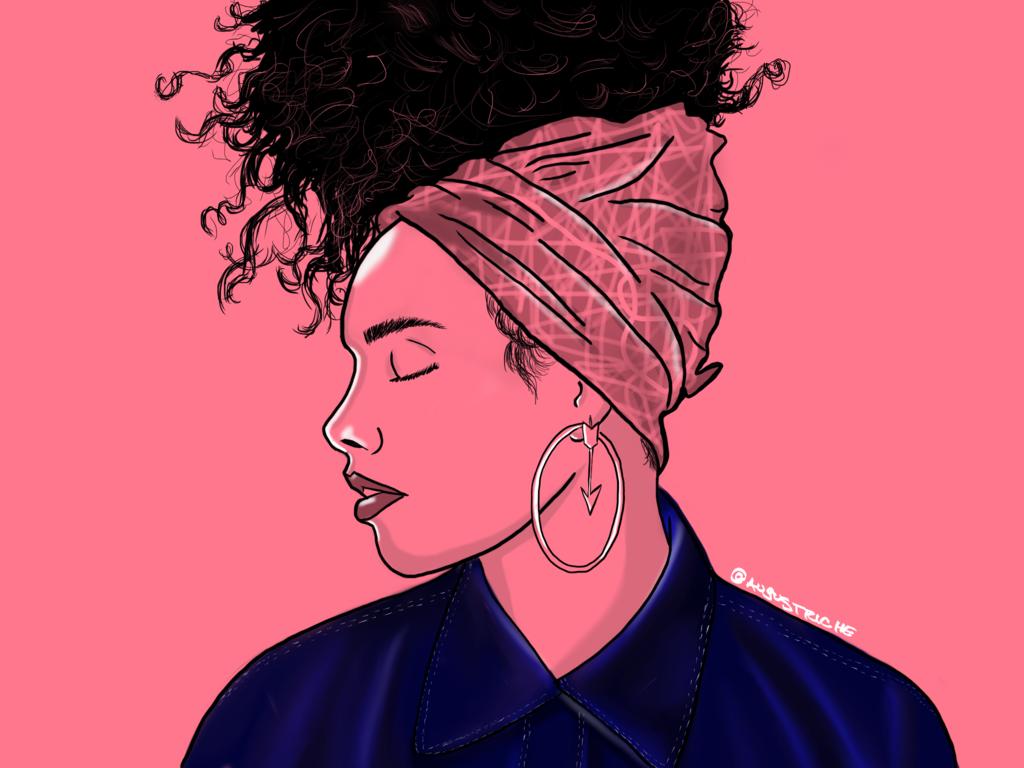 Alicia Keys by August Riche