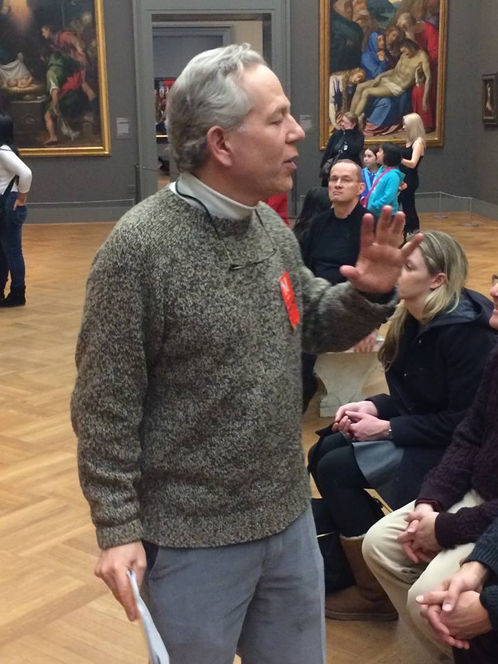 """Professor Lear, formerly of the Harvard Classics Department, is interviewed for our """"Profiles in Art"""""""