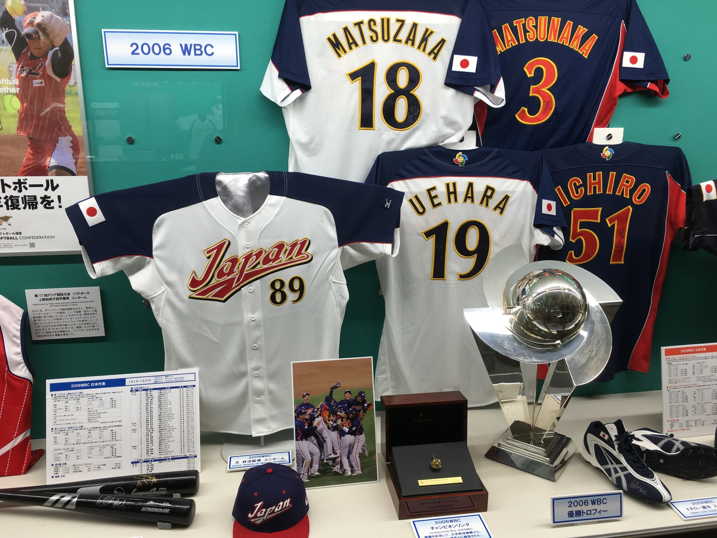 I wish the WBC was still popular. Watching Team Japan dominate the first few tournaments was a lot of fun.