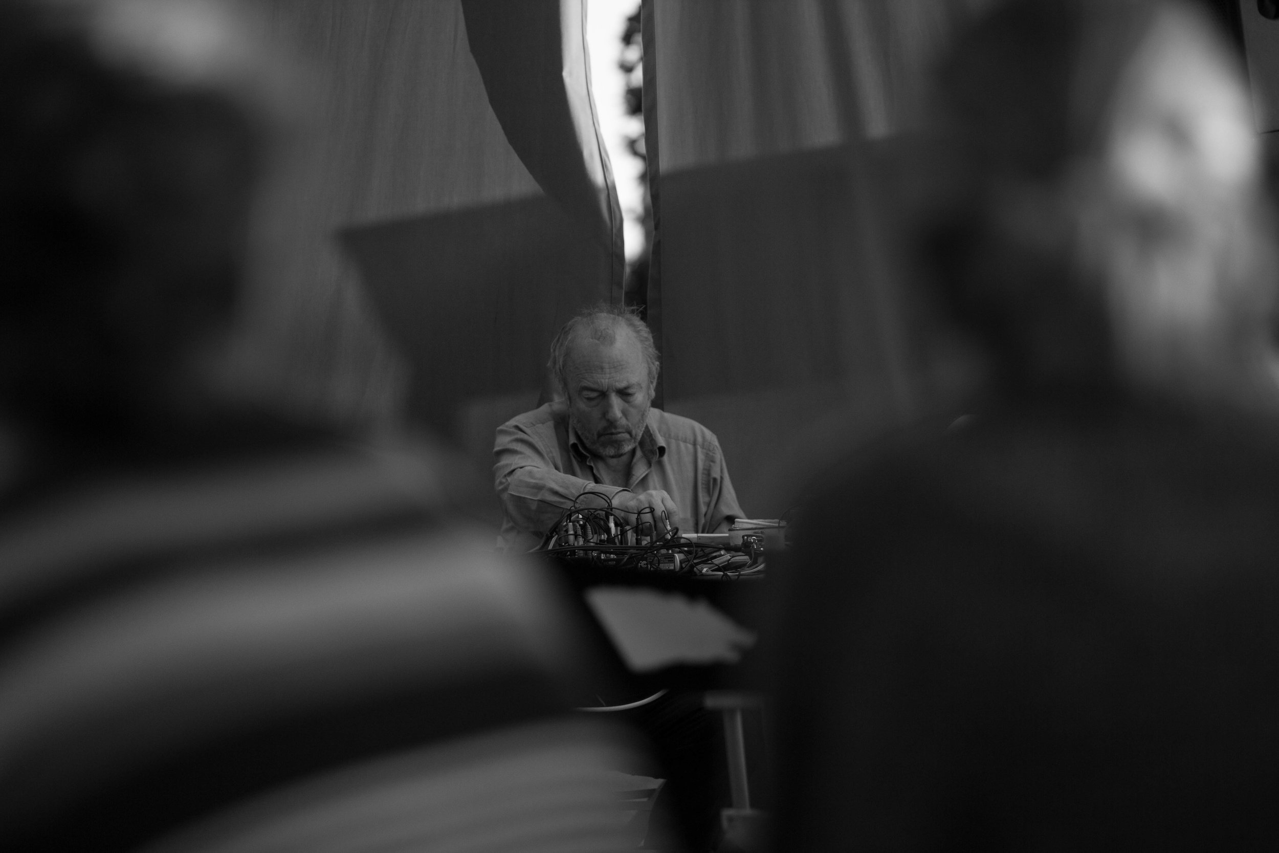 Philip Jeck. Live performance, Liverpool 2016