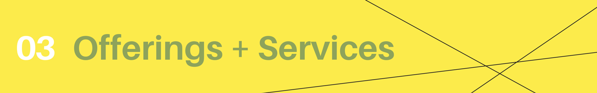 Helen De Michiel Offerings Services