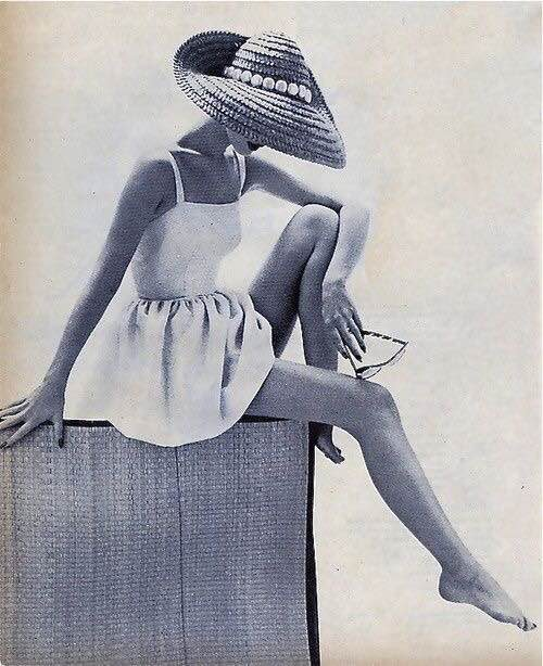 Early 1960s Swimsuit Ad