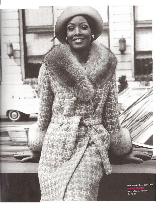 60s Model, Arlene Hawkins, May 1960, New York City