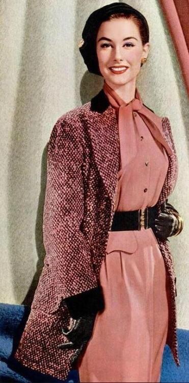 Actress Nancy Berg, 1954