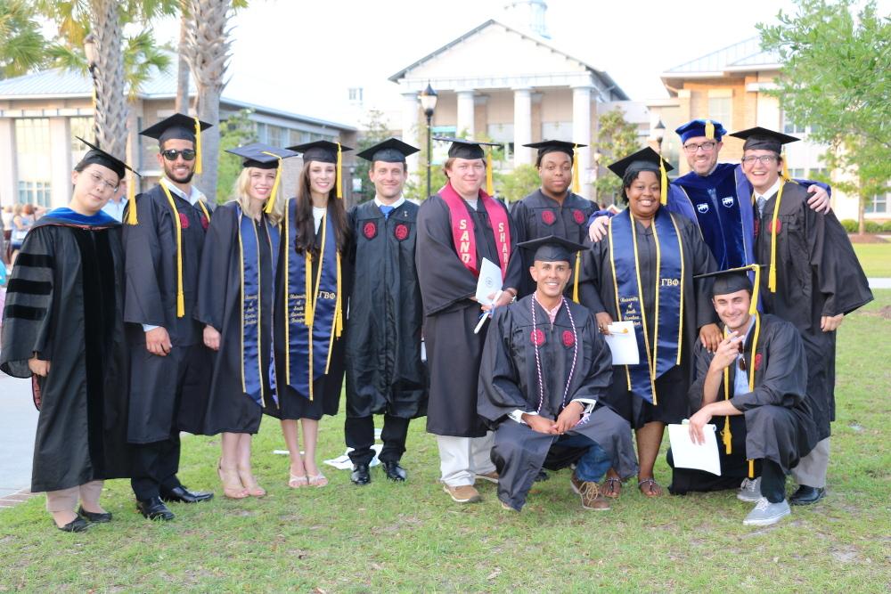 CSci Graduates 2017