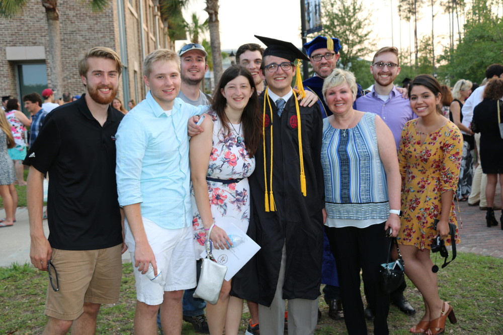 Peter Mize, CSci Student of the Year & Graduation 2017
