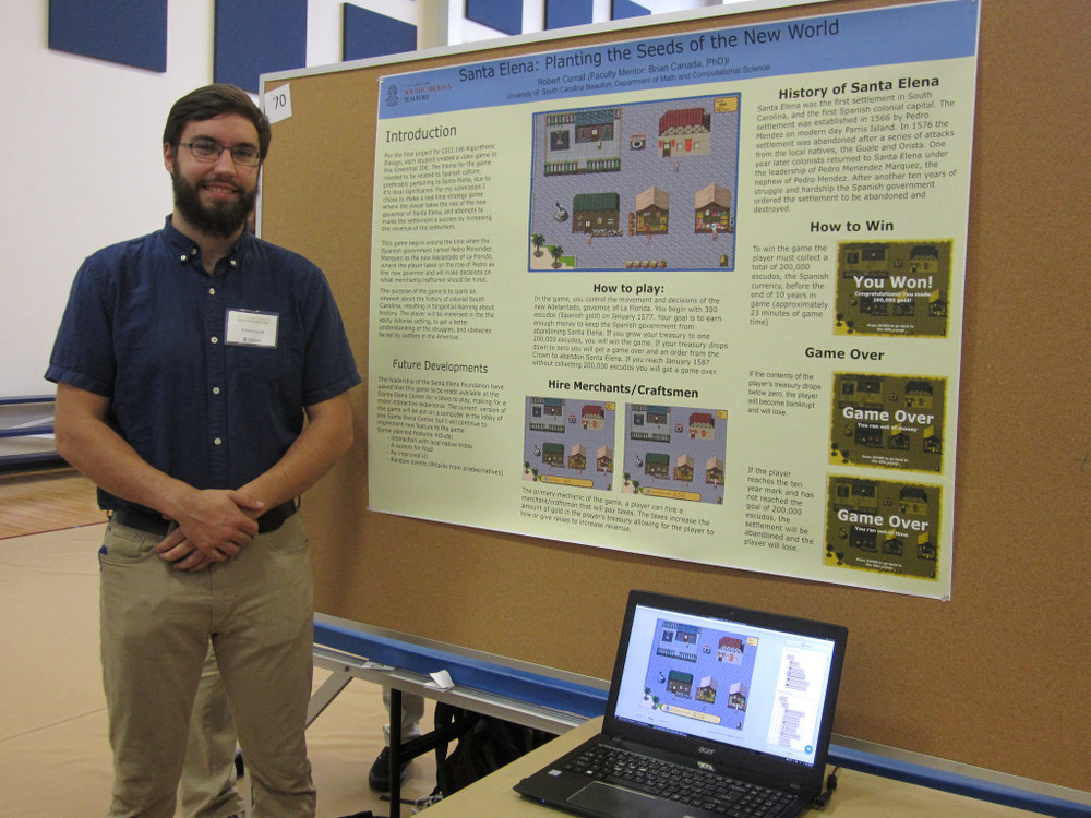 Student Research & Scholarship Day 2017: Robb Currall, Innovation & Applications