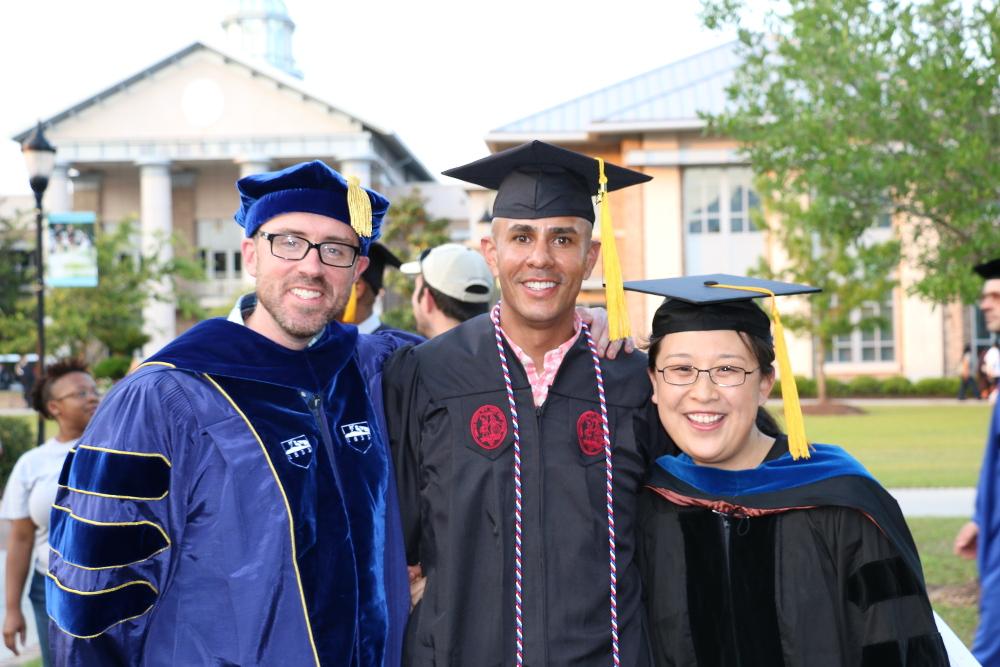 CSci Professors & Graduate 2017