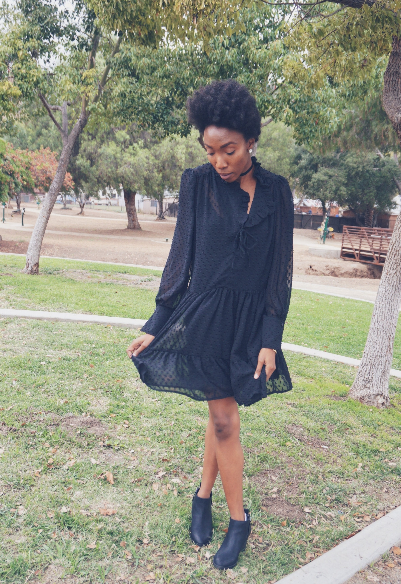 The Dress alone