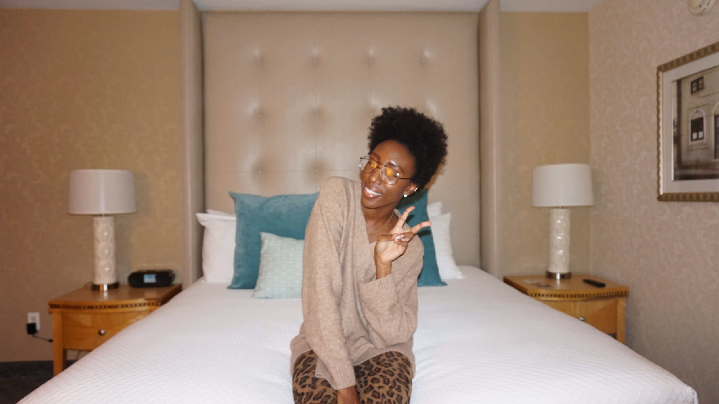I stay in San Diego which isn't far from Los Angeles... but Cabi put everyone in the  Belmar Hotel  the day before the event,  so we didn't have to travel so far the morning. I honestly could barely sleep, because I was so excited about all of the Cabi Blogger Day activities!!!