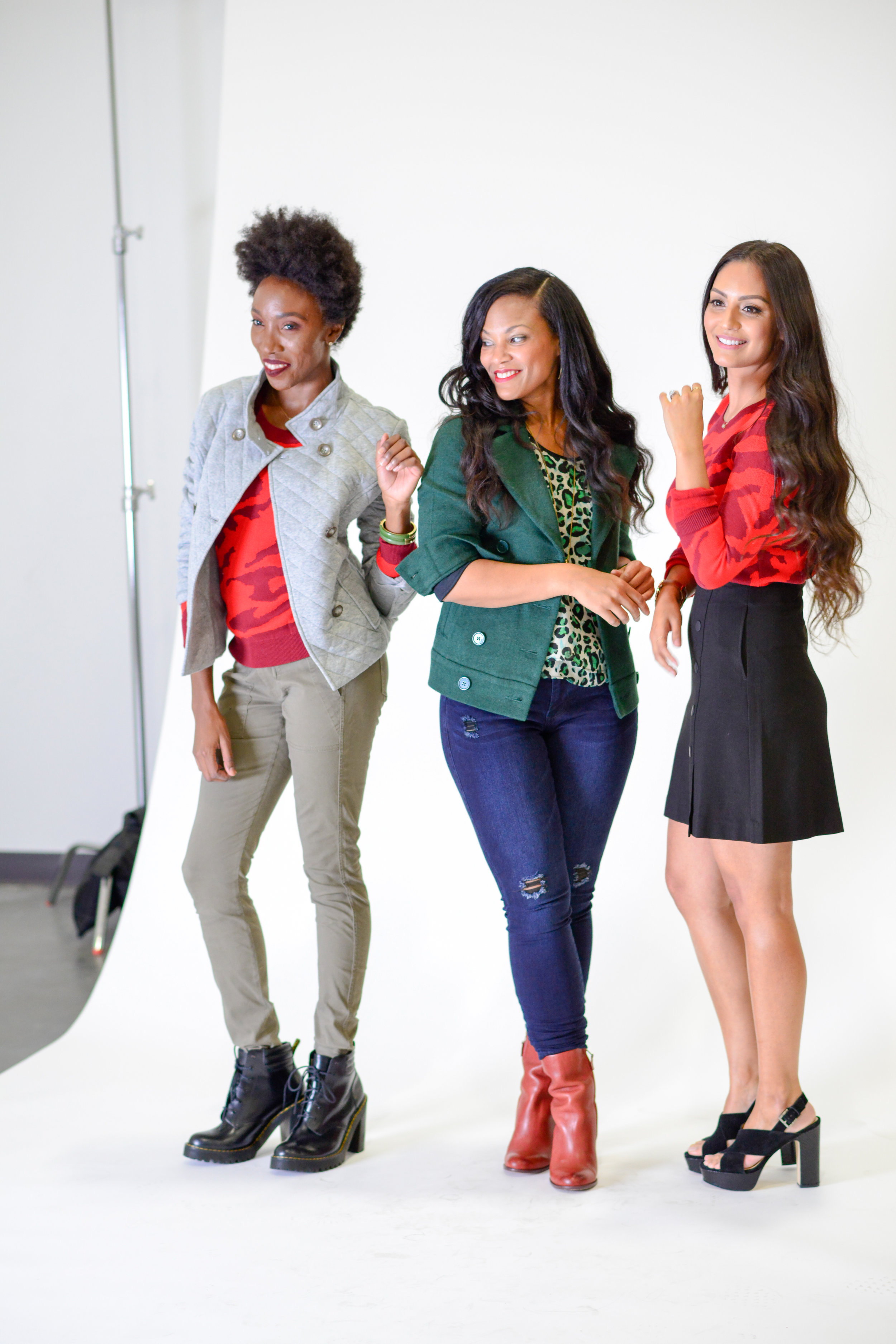 Behind the Scenes with Johnnalynn of  Stushigal Style  and Vanessa of  Vanessa Balli
