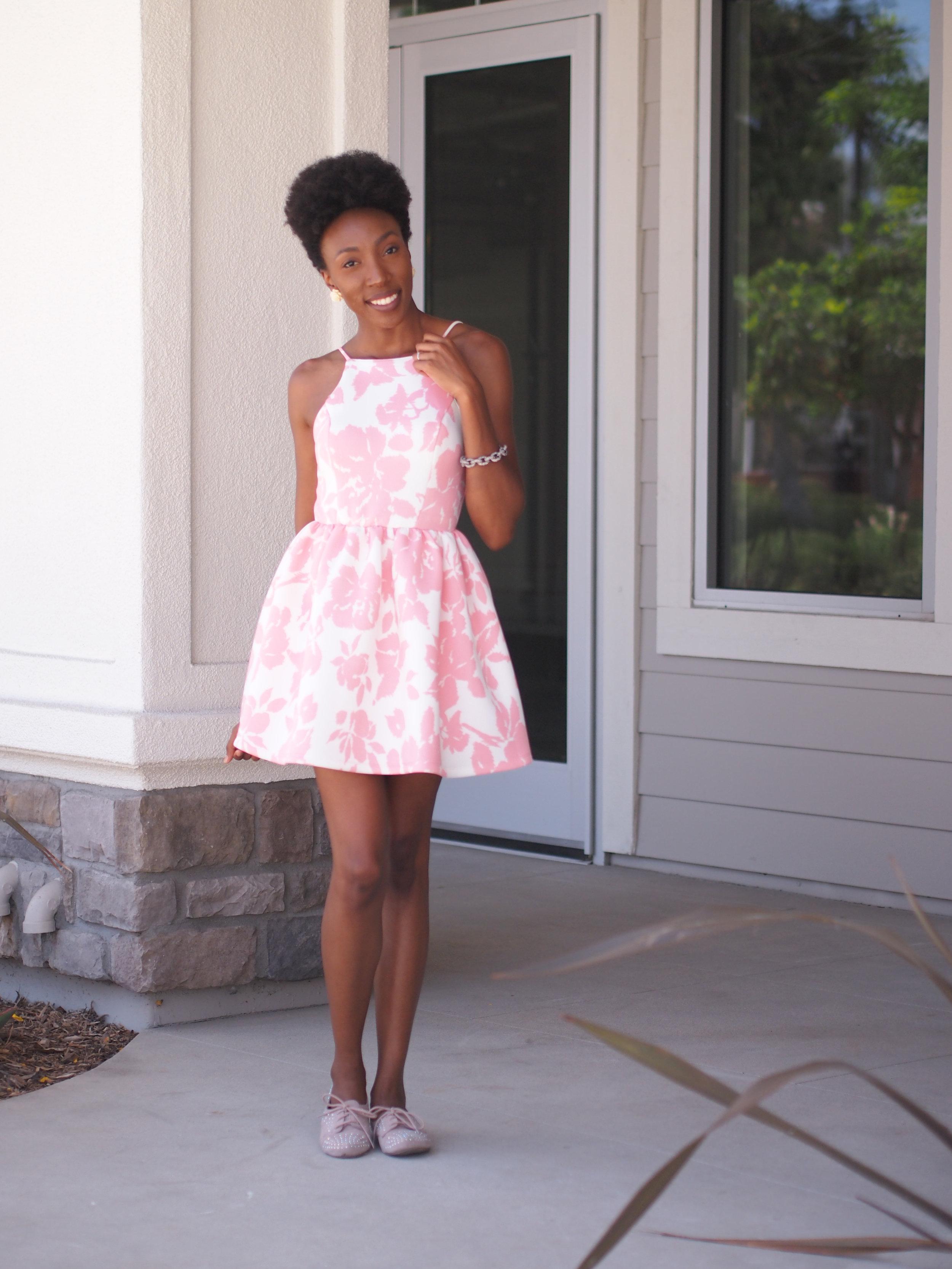 Dress:  Vocabulary boutique