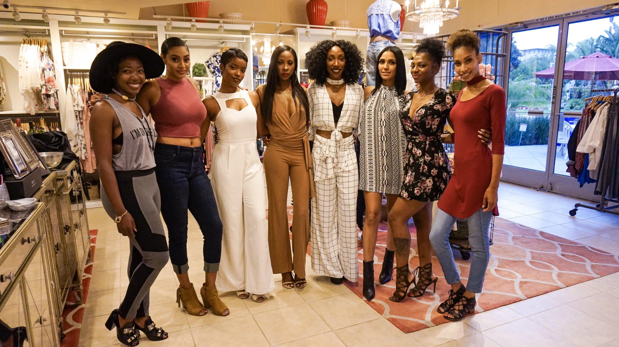 The girls!!!!!  Follow My friends...  -Kennesha @the_kennesha  - Pashana  @pashanadotcom <----Check out her blog!!!! -Jazzie @jazziewillmake1  -Christina @taj_ambar <----- Designer!!! Go check out here work!! - Alexis  @alexis_kalon <----Book her for makeup!!!! - Maura  @makeupbymaura <----Book her for makeup!!! -Amara @amara_carey