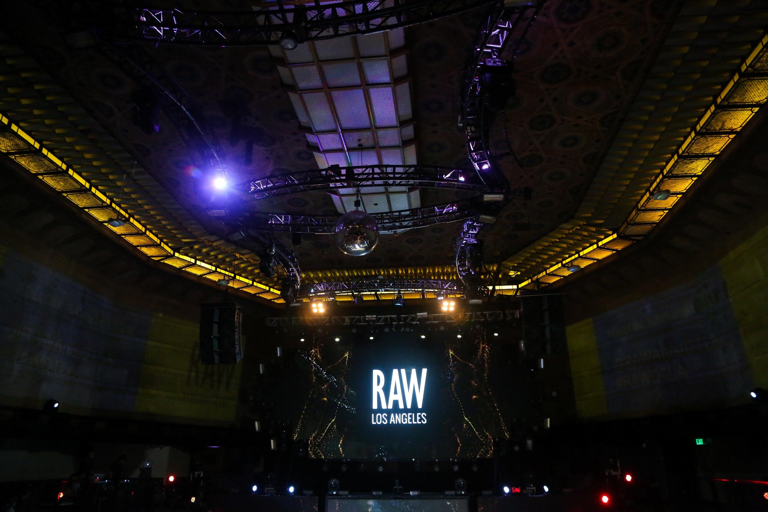The Venue... The show was held at  Exchange LA   Photo credit: axyz3
