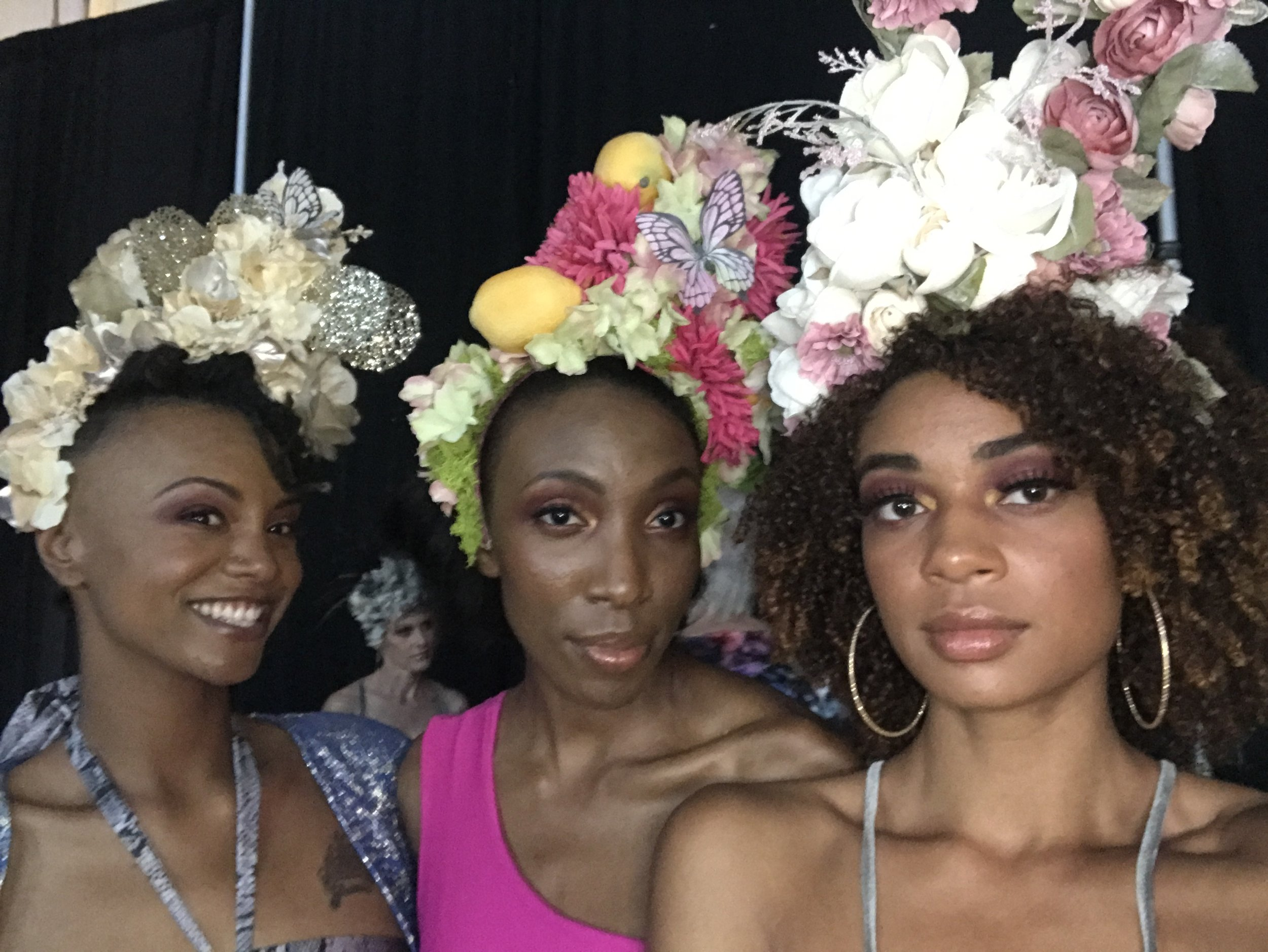 Night 2 look 1  Hulabelle with Sharika and Autumn     There's an amazing story behind the line!! You have to check it out.