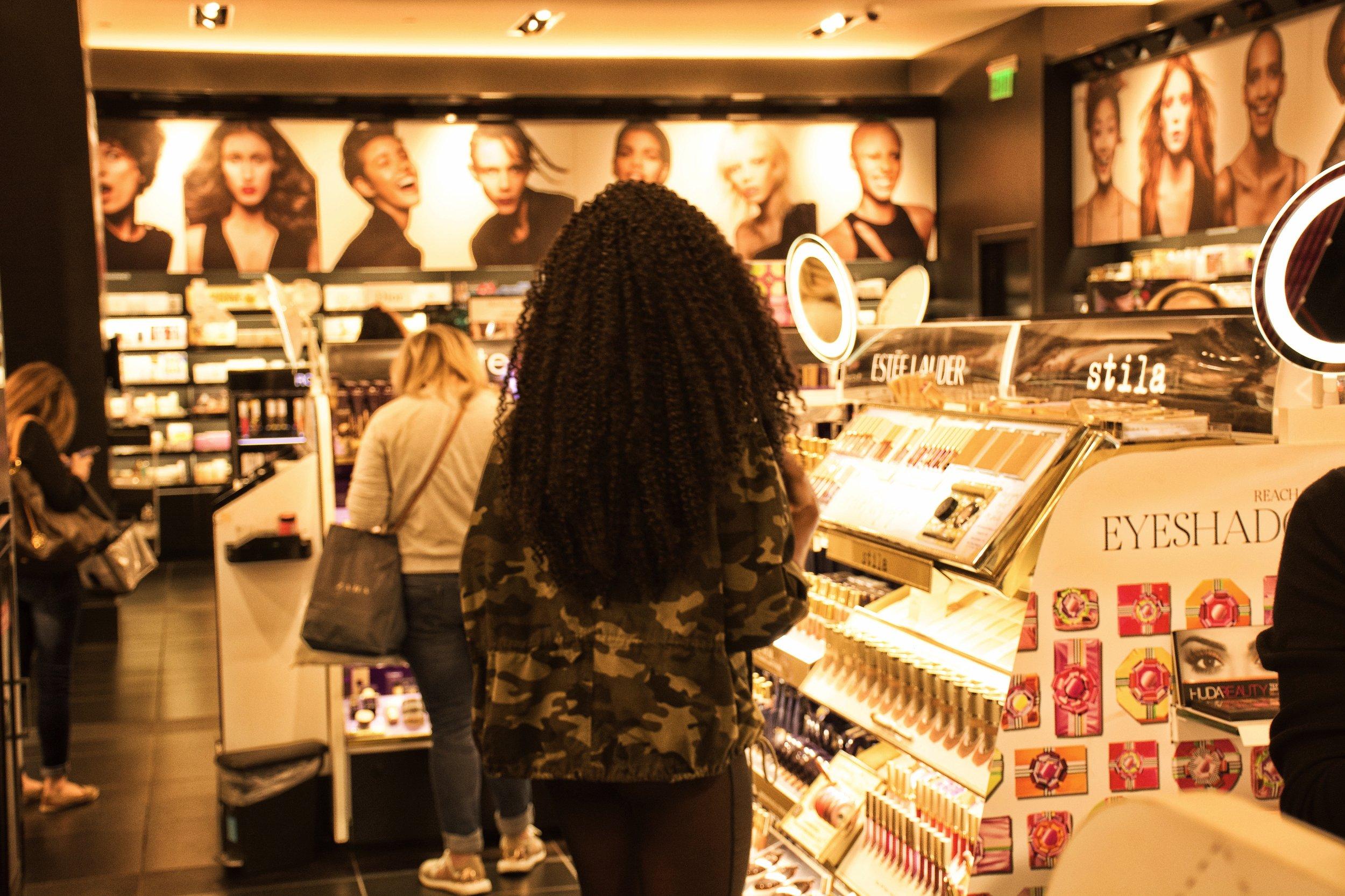 Sephora!!!!!      Photo Credit: Blu Lindsey ( @Bluentfamily )
