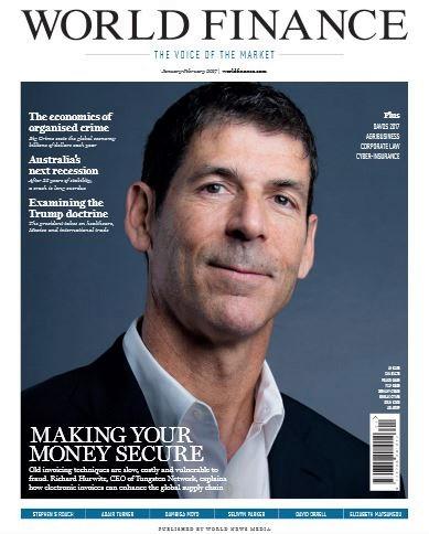 Magazine Cover - Richard Hurwitz, CEO - TUNGESTEN CORPORATION