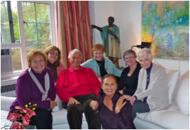 Jerry and Diane with Heartlight's Founding members in 2010: Patty Probert, Susan Farchione, Sara Farchione, Sue Bogucz and Barbara Duttweiler