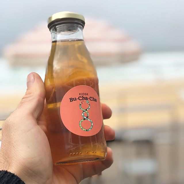 KIOSK KOMBUCHA. Bu-cha-cha  Good for your guts, and super tasty! 💪 . . . #booch #buchacha #chacha #scooboo #thekiosk #thekiosknewcastlebeach #newcastle #mynewcastle #newy #newycoffee #newyeast #eastend #hellonewyeast #newylife #newybeach #newcastlebeach #redhot #beach #coffee