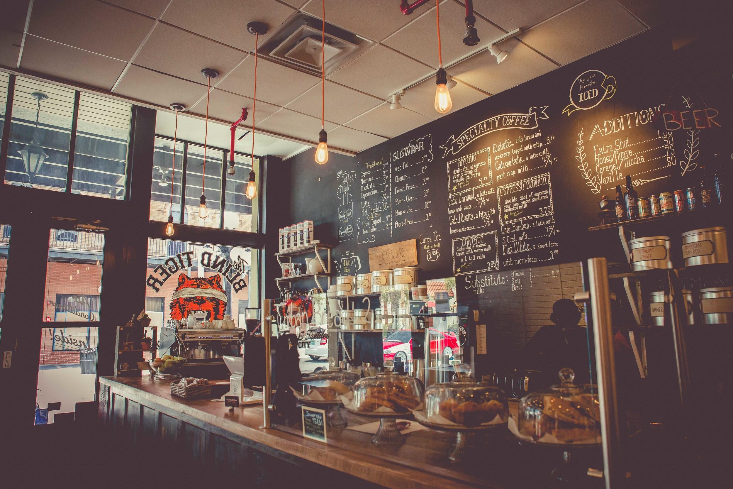 blind tiger cafe counter ybor city