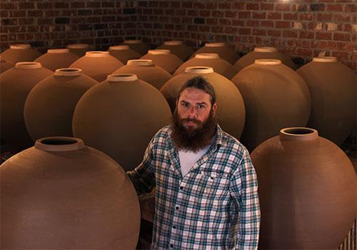Photo from  Daniel Johnston Pottery