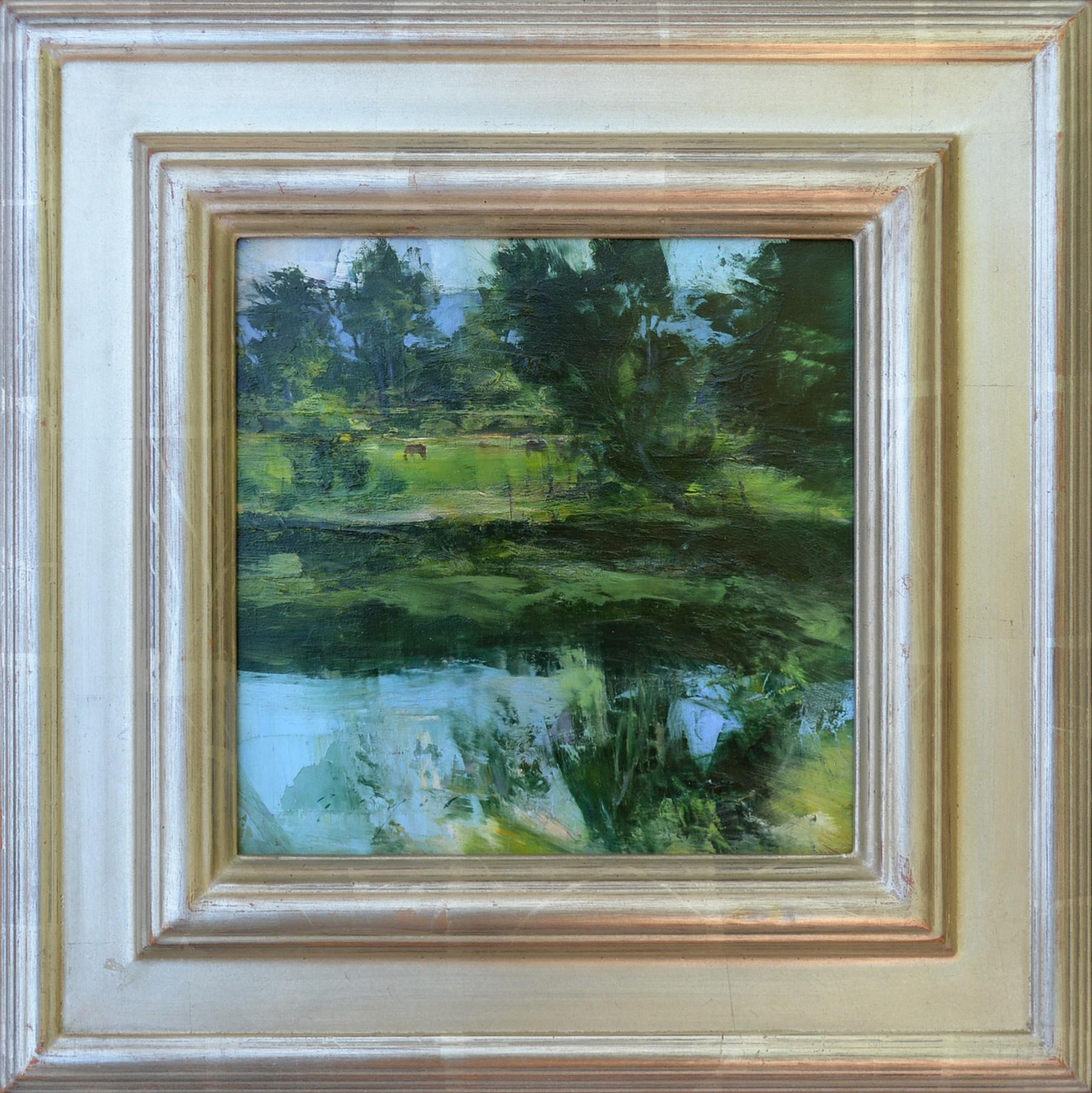 Douglas Fryer, Gentle Breezes ,oil, 8 x 8 in.
