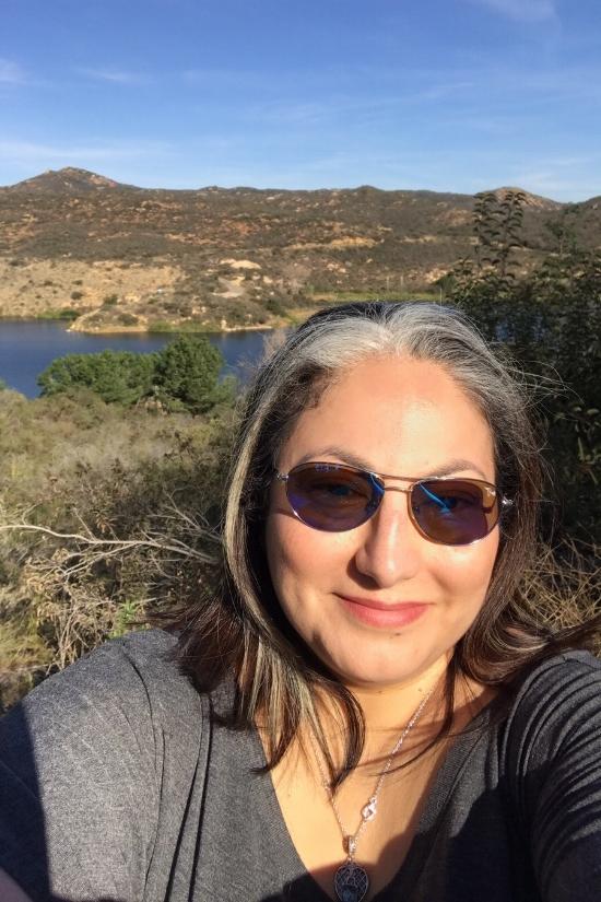 Hiking at Dixon Park in Escondido, CA