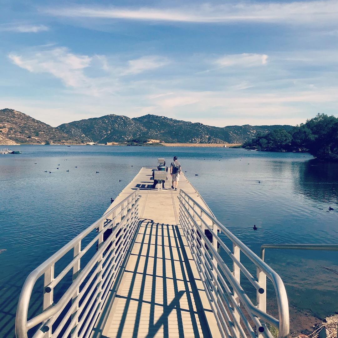 Dixon Lake in Escondido, CA