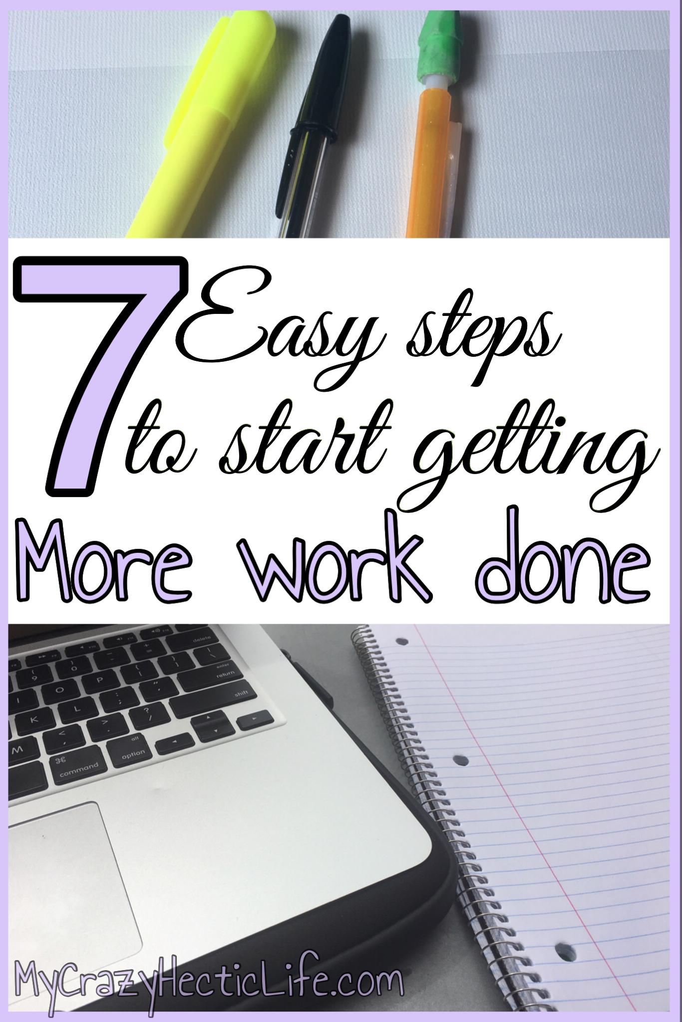 Start getting more work done ... like a boss!