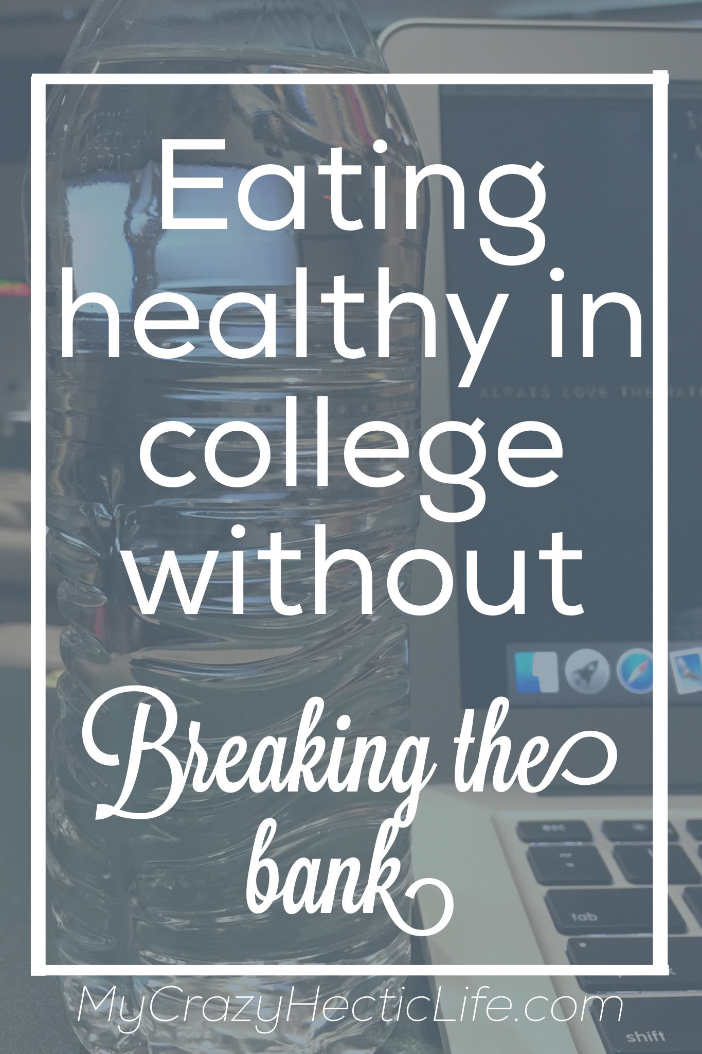Eat healthy in college but don' go broke doing it.