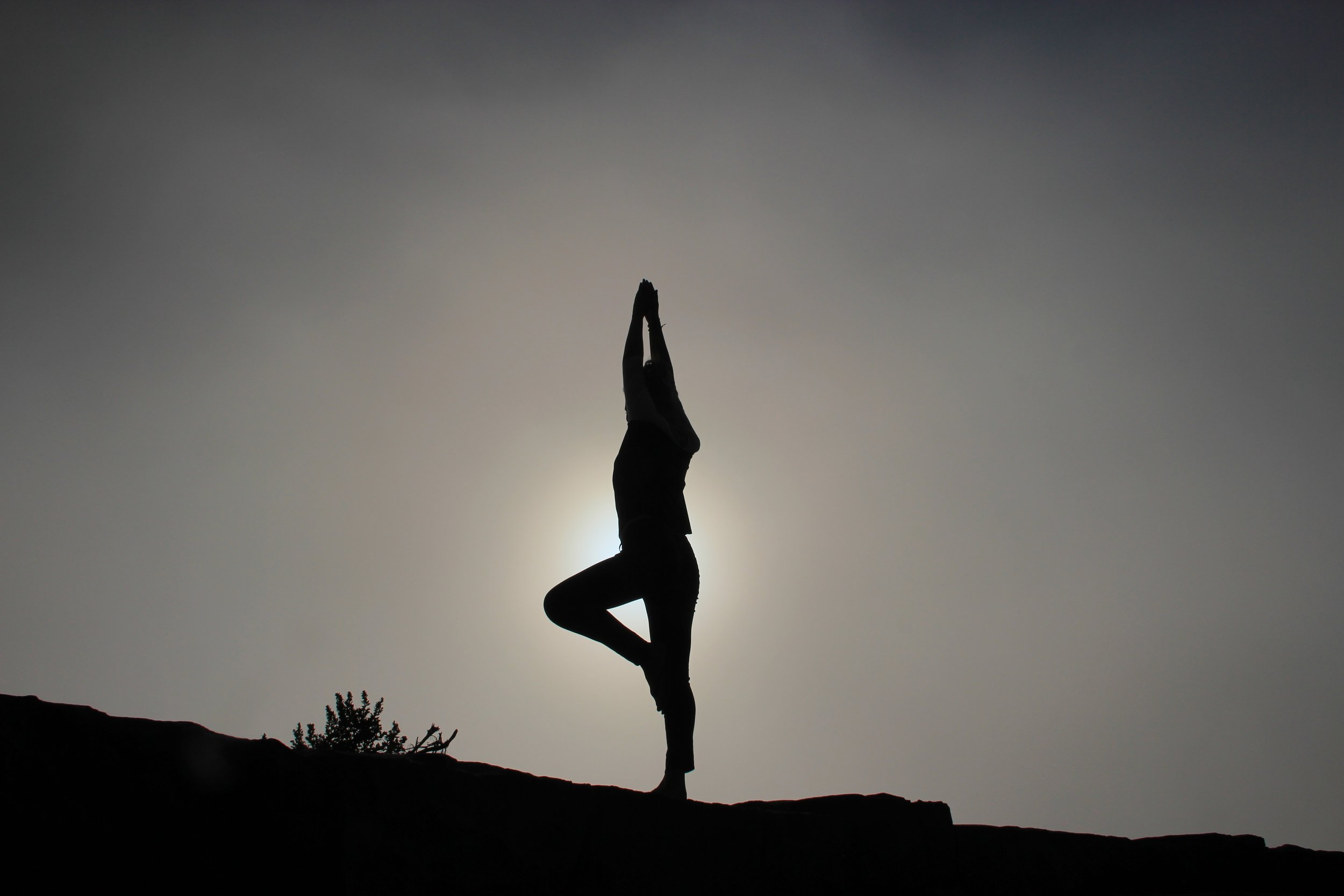 Using yoga to relax