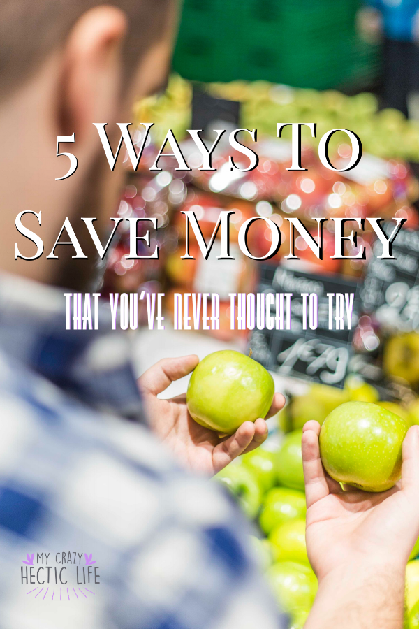 5 Ways to Save Money - Pin Image