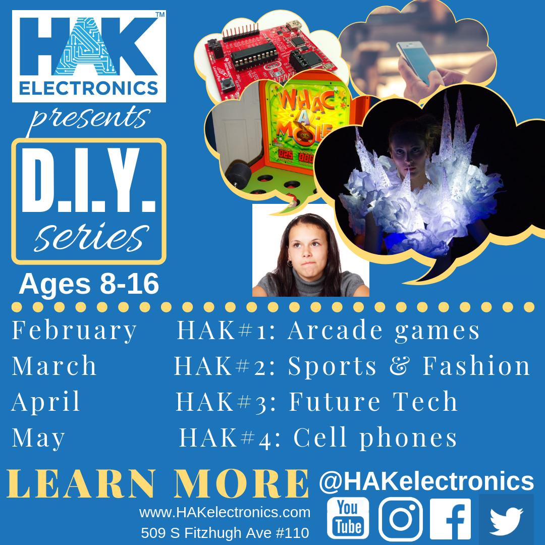 HAK STEM DIY session for kids