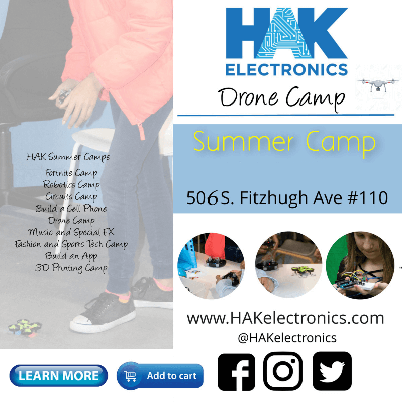 Drone Camp - Week 1: July 1st