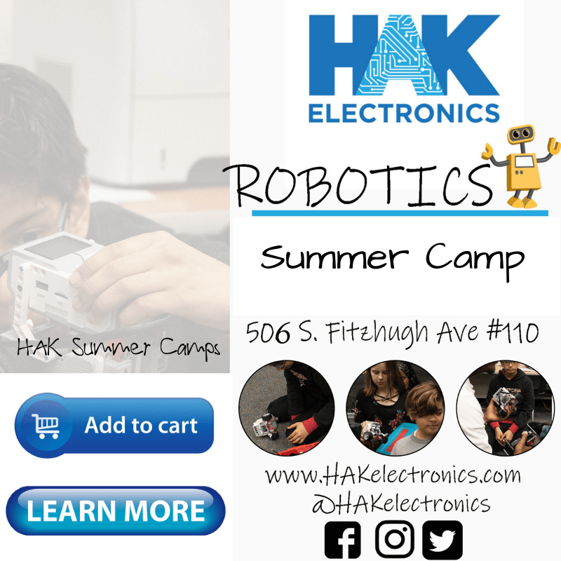 Robotics Camp - Week 1: June 10th - 14th