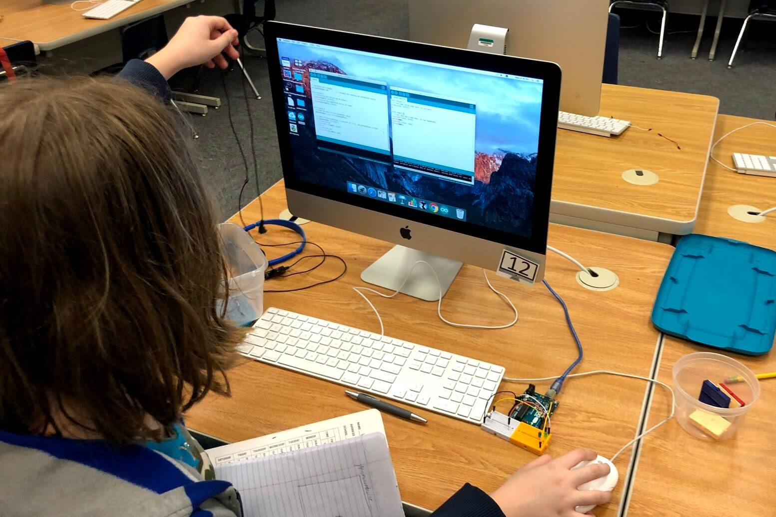 Ages 11-15 - STEM fundamentals are taught. Focused on understanding the principles of product design using technology.